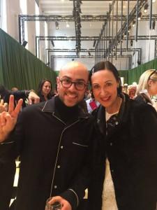 Tina Grube mit Pablo Coppola